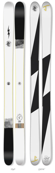 "The Whipit ""LIGHTNING"" Limited Edition Ski"