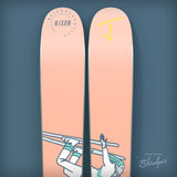 "The Whipit ""SHRALPER"" Chris Nixon x J Collab Limited Edition Ski"