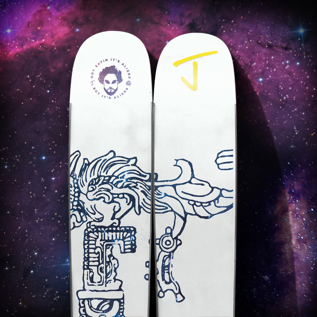 allplay ancient astronauts all mountain park ski by j skis