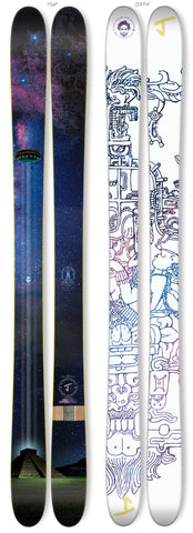 "The Allplay ""ANCIENT ASTRONAUTS"" Limited Edition Ski"
