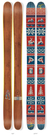 "The Friend ""HOLIDAY"" Limited Edition Ski"
