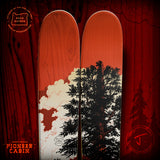 "The Friend ""PIONEER CABIN"" Adam Haynes x J Collab Limited Edition Ski"