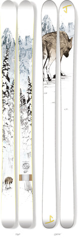 "The Masterblaster ""WOLF"" Oscar Llorens x J Collab Limited Edition Ski"
