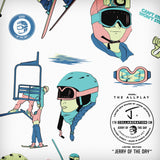 "The Allplay ""JERRY OF THE DAY"" x J Collab Limited Edition Ski"