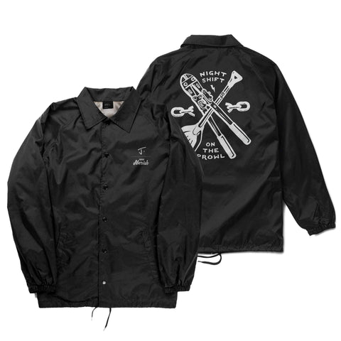 Street Rat Coaches Jacket - J x Jiberish Collab
