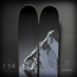 "The Metal ""SUMMIT"" Conrad Godly x J Collab Limited Edition Ski"