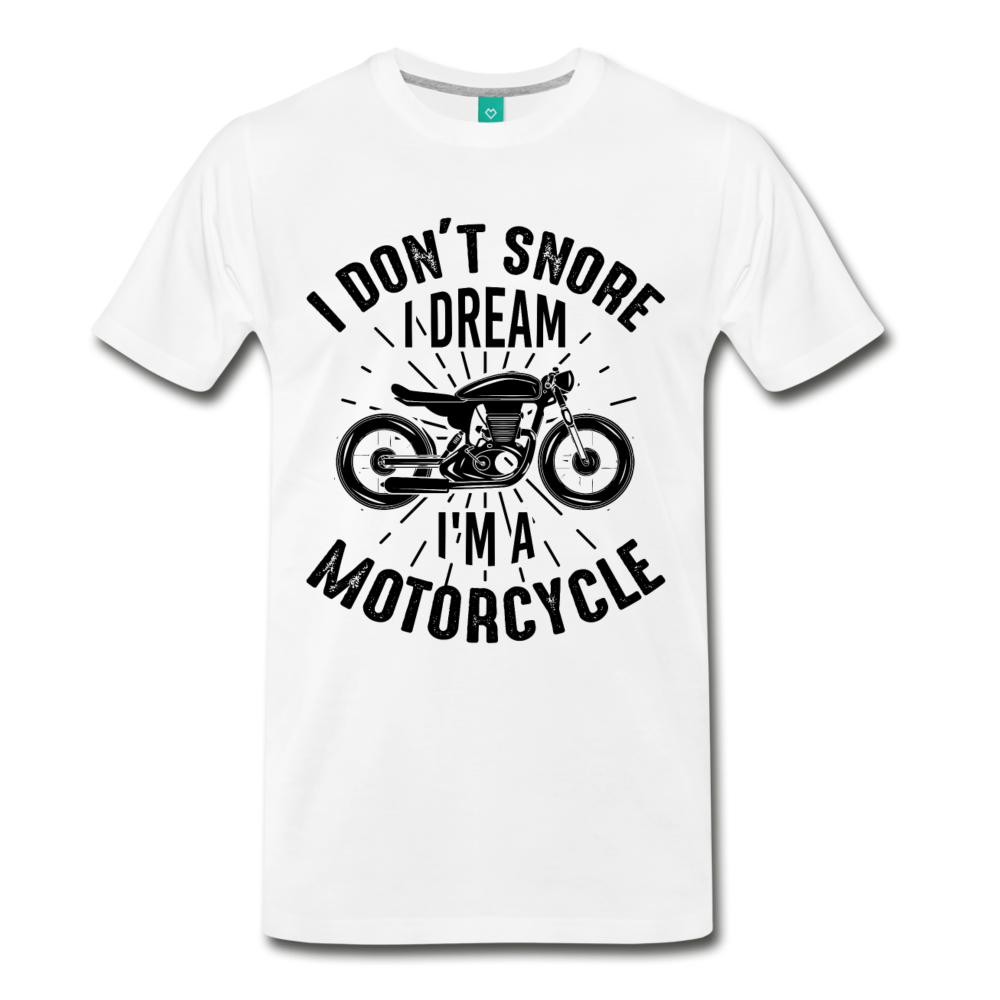 I DON'T SNORE - I DREAM - I'M A MOTORCYCLE - Caferacer HUB - CafeRacer shop
