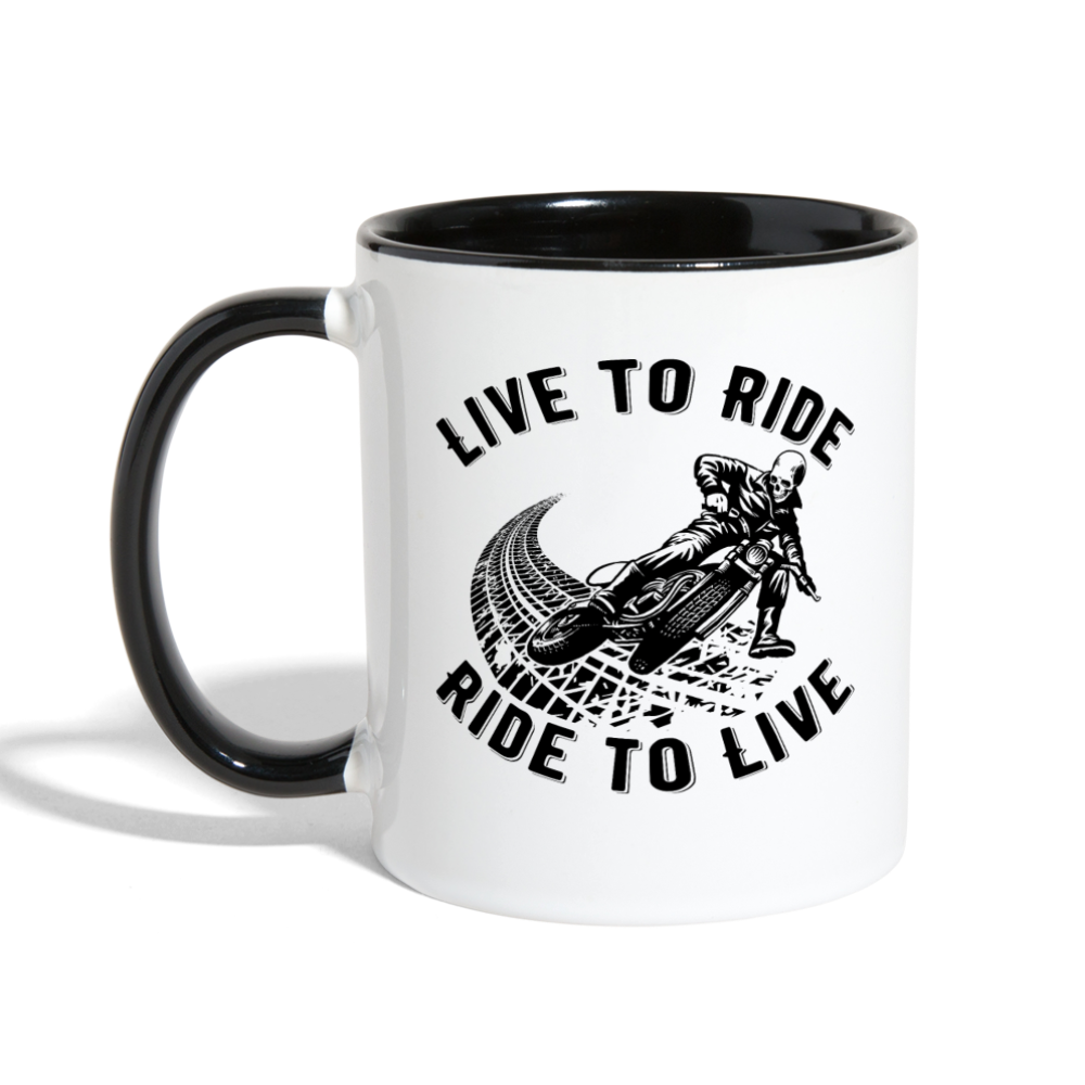 LIVE TO RIDE - RIDE TO LIVE - Caferacer HUB - CafeRacer shop