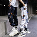 Spliced Harem Pants Space Themed - Astroworld - Fall 2019