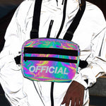 Chest Rig Bag Iradescent Reflective