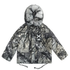 Branchprint Parka Jacket