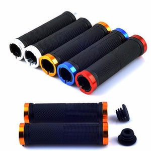 Metal capped Rubber Bar Grips