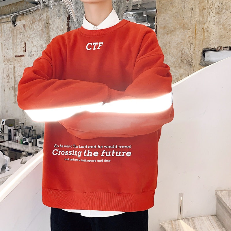 Crossing The Future Reflective Jumper