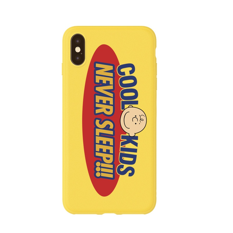 Cool Kids Never Sleep iPhone Case
