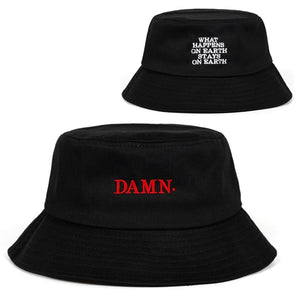 Damn, What Happens On Earth Stays On Earth Bucket Hat