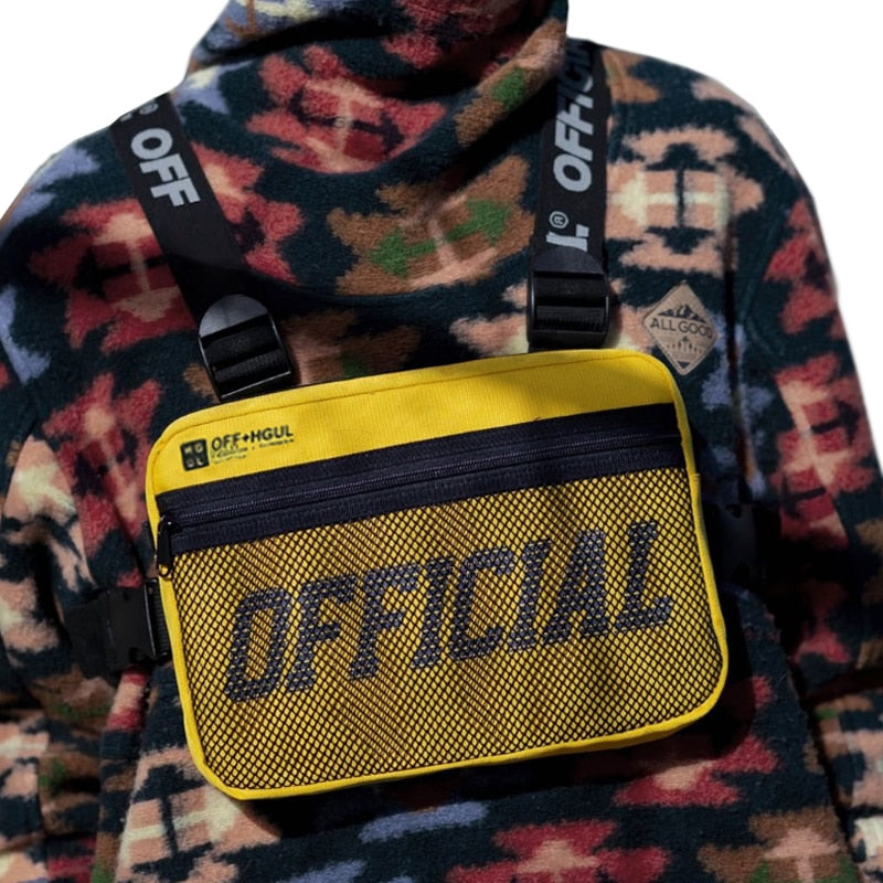 OFFICIAL Solid Colour Chest Rig Bag