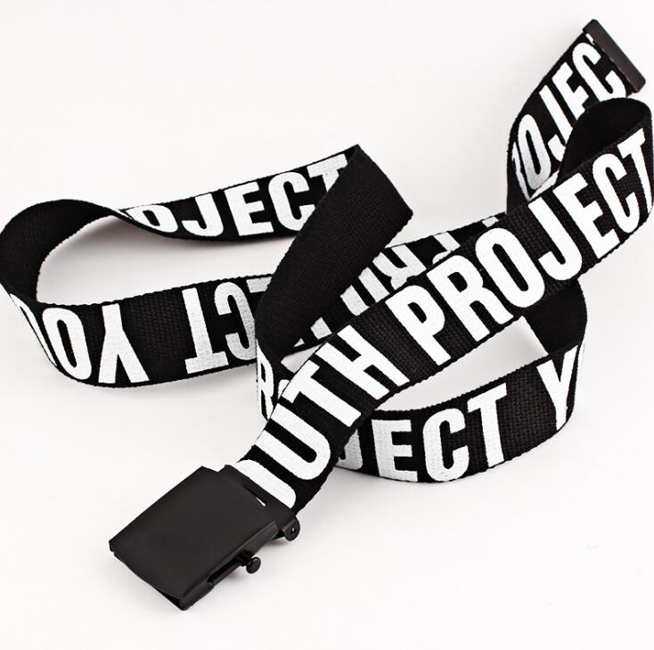 YOUTH PROJECT Canvas Street Belt - Fall 2019