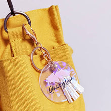 Load image into Gallery viewer, QuincyLash Tassel Keychain