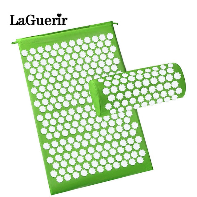 Acupressure Therapy Mat and Pillow For Back Neck Pain