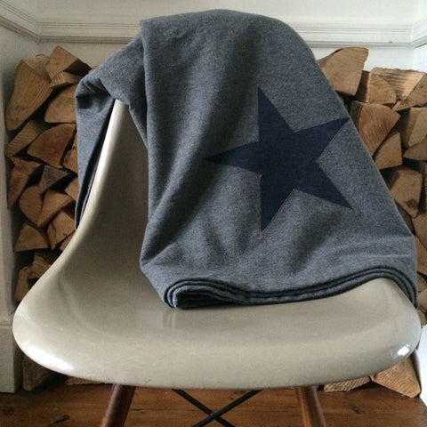 Denim Star Blanket