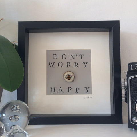 Don't Worry be Happy - Black