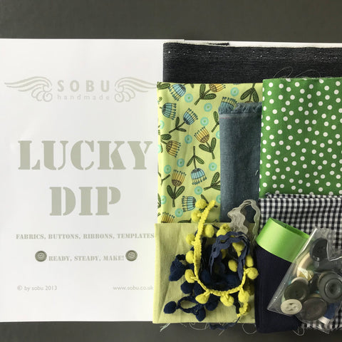 Lucky Dip (navy/ green)