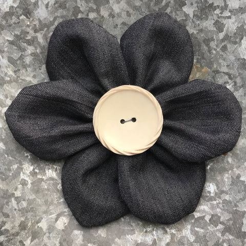 Flower Corsage (denim)