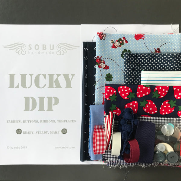 Lucky Dip (gnomes/strawberries)