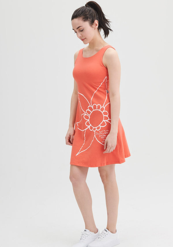 PASSIFLORE - Coral Sundress