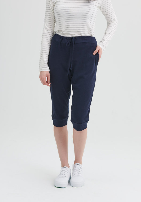 bamboo pants cropped