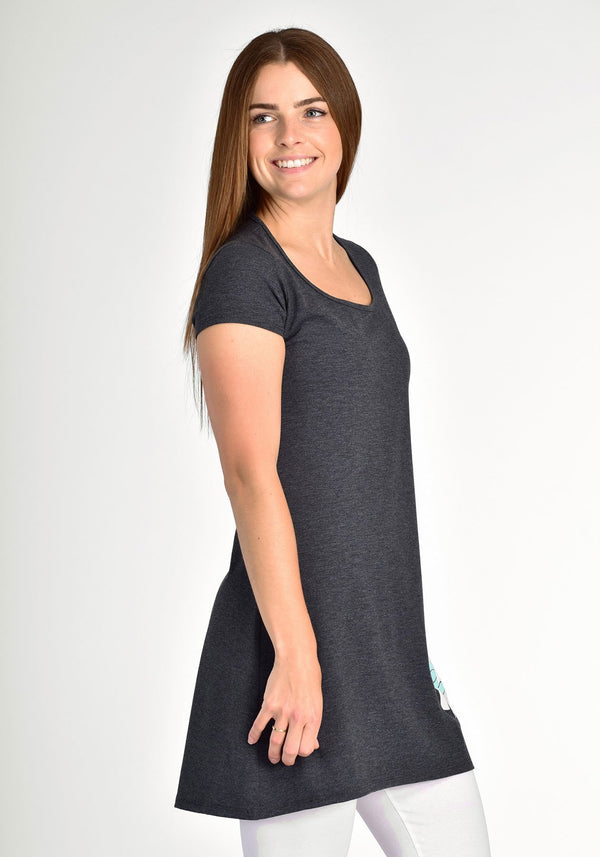 ANEMONE - Gray tunic - Intuition