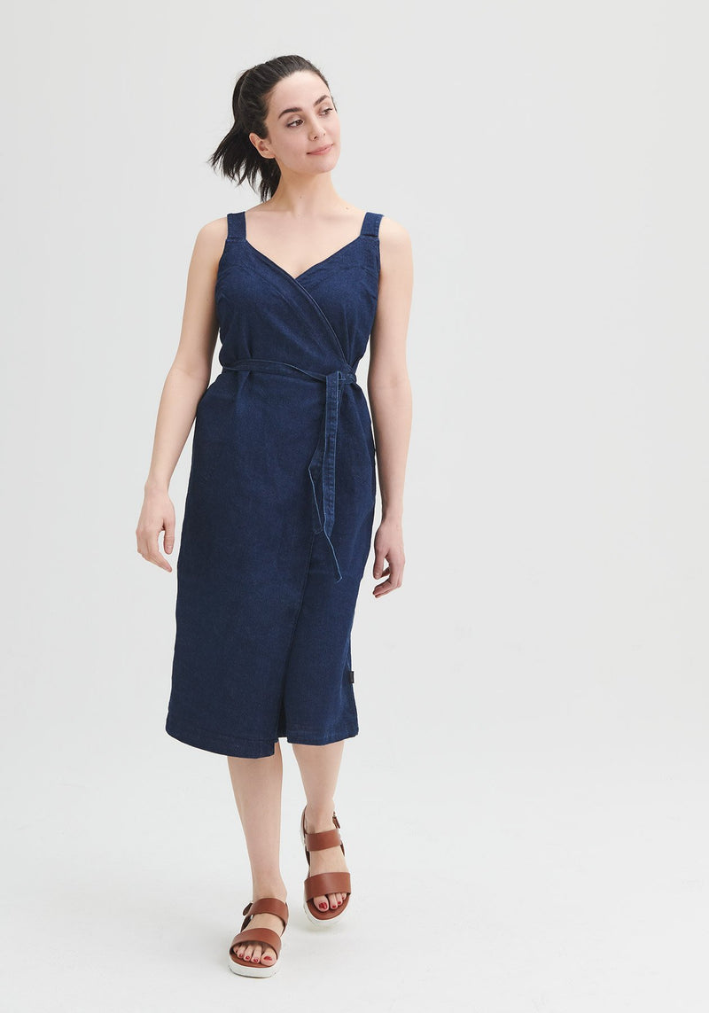 PAPILLON - Denim dress