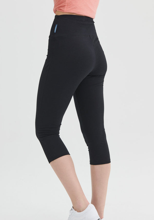 IVORY - Black 3/4 leggings