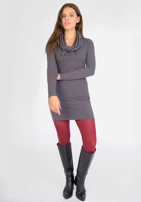 COLG - Grey tunic dress