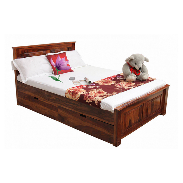 Dhara Single Bed with Storage