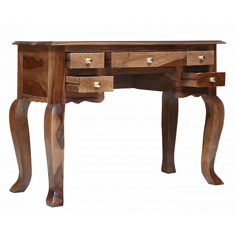 Ajey Console Table with Drawers
