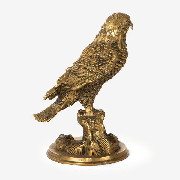 Elaborately Carved Eagle Statue