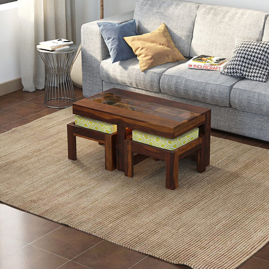 Asana Coffee Table with Seating