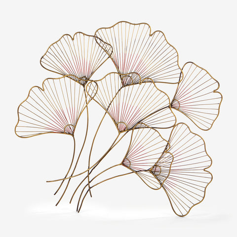 Wire Flowers Metal Art