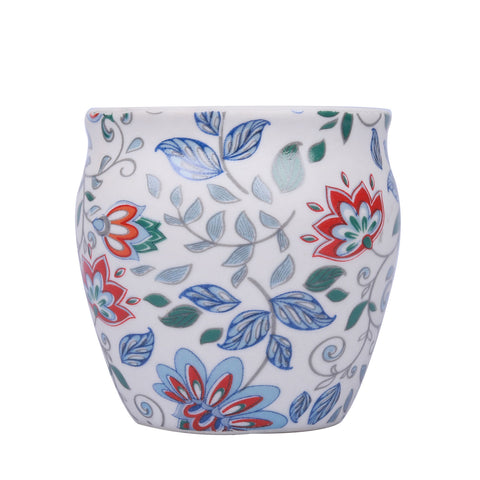 Floral Stoneware Kulhad
