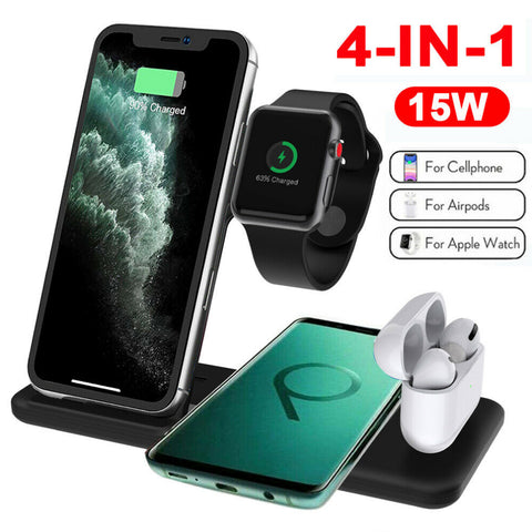 Apple Wireless Charger - 4 in 1 for iPhone Airpods and Watches