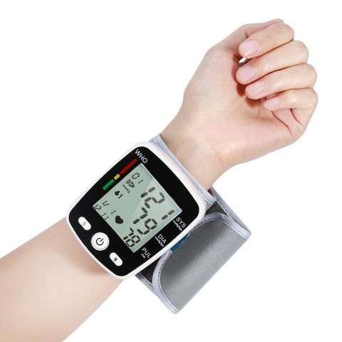 The Wrist Blood Pressure Monitor