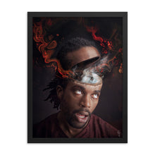 Load image into Gallery viewer, Zilchbrain Framed poster