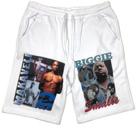 NEW! BIGGIE AND PAC (SWEAT SHORTS)