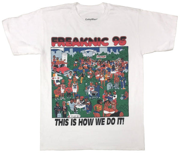 FREAKNIK '95 (WHITE) (STAY HOME SALE SPECIAL!)