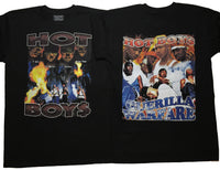 WE ON FIRE (Front And Back Prints)