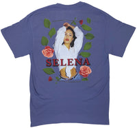 NEW! QUEEN OF TEJANO (LAVENDAR SHIRT) (FRONT AND BACK PRINT)