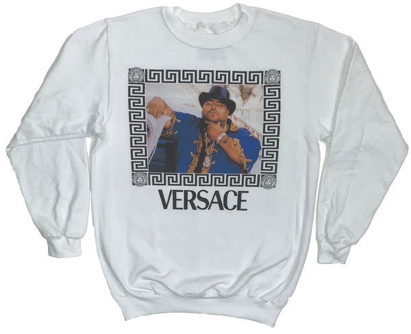 NEW! SOMEBODY STOP ME (WHITE CREWNECK)