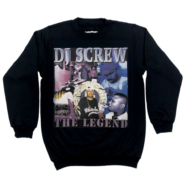 NEW! THE LEGEND (BLACK CREWNECK)