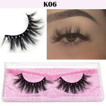 Load image into Gallery viewer, Visofree Eyelashes 3D Mink Lashes natural handmade  volume soft lashes long eyelash  extension real mink eyelash for makeup E01
